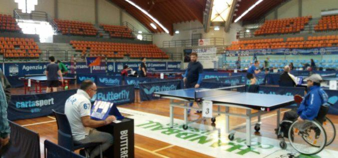 A Sogliano la seconda prova del Campionato Regionale di Tennis Tavolo