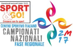 FINALI REGIONALI 2017 CAMPIONATI NAZIONALI E PROGETTO SPORT & GO