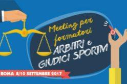 A Roma un Forum per Formatori Arbitrali. Presenti 7 pugliesi
