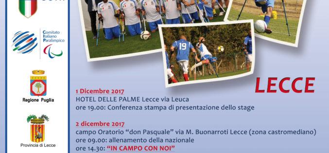 A Lecce in campo la Nazionale Amputati