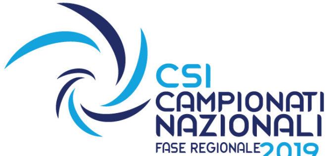 Campionati Nazionali 2018/2019 – Fase Regionale