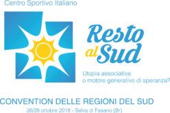 Convention delle Regioni del SUD – Selva di Fasano 26/28 Ottobre 2018