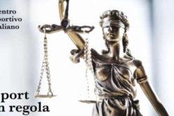 CORSO DI FORMAZIONE PER OPERATORI DELLA GIUSTIZIA SPORTIVA