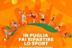 In Puglia fai ripartire lo Sport